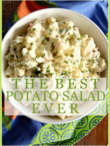THE BEST POTATO SALAD EVER- not bragging just facts-stonegableblog.com