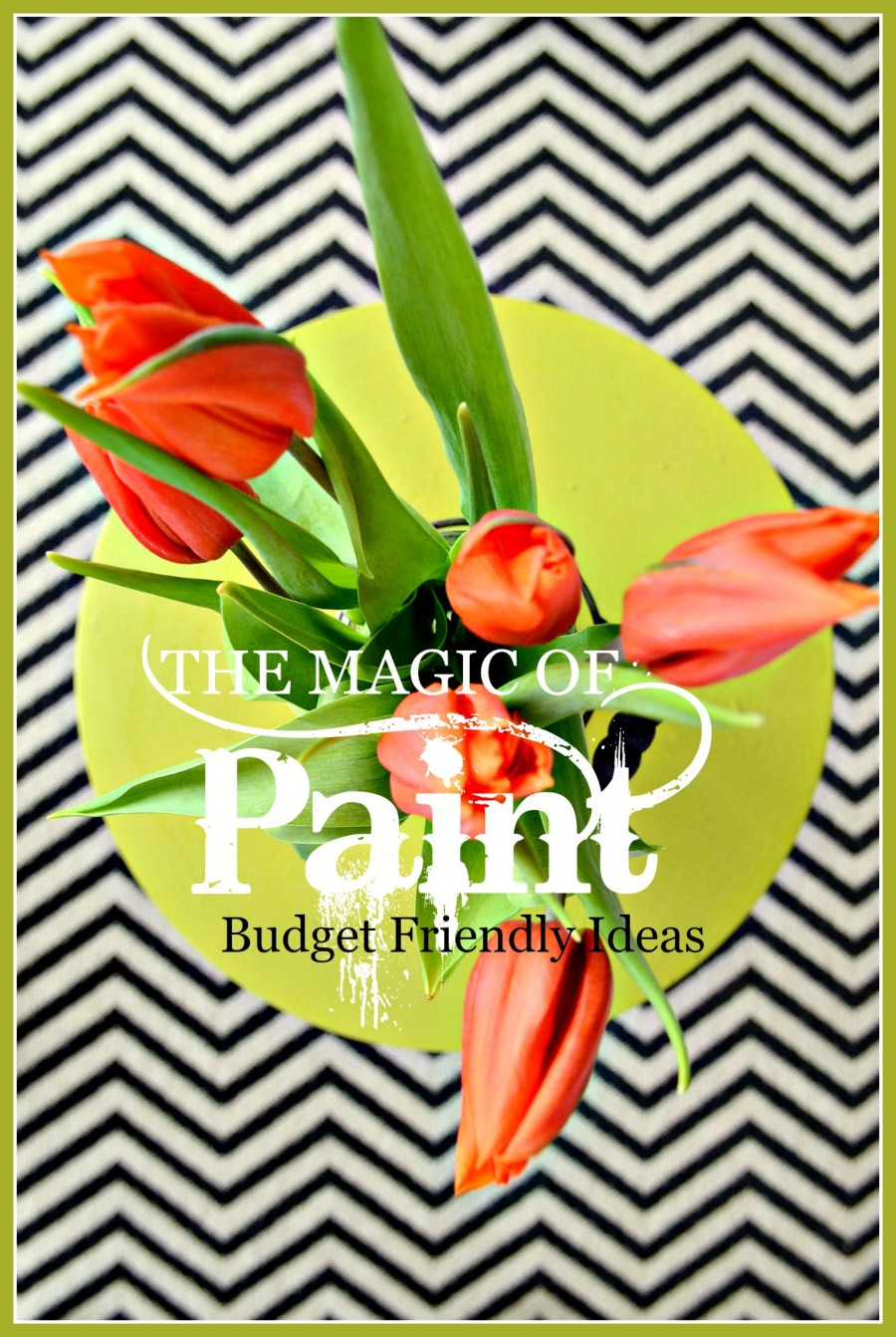 THE MAGIC OF PAINT- BUDGET FRIENDLY IDEAS