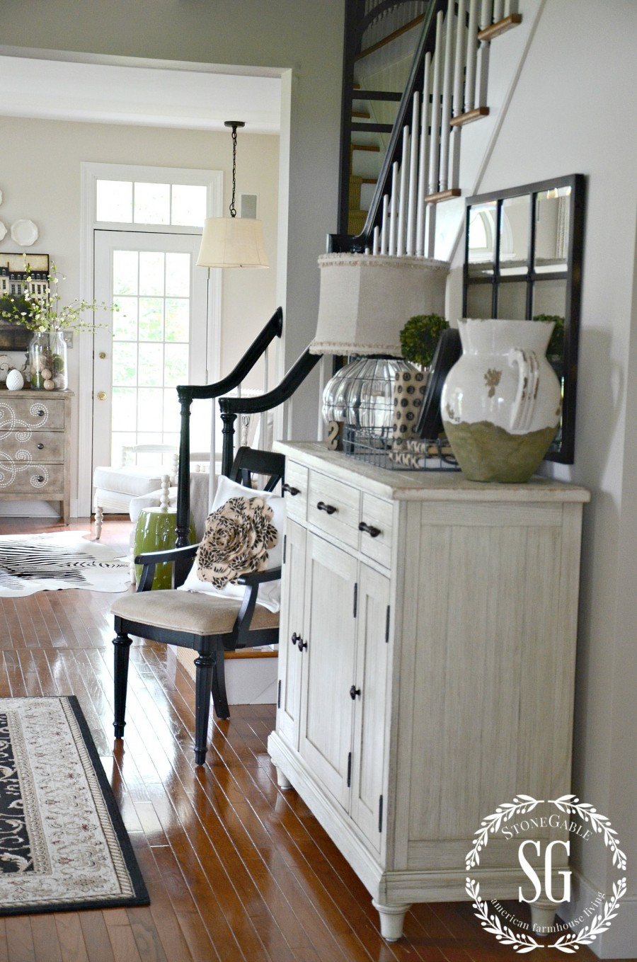 Foyer Mirror Designs : Creating a welcoming foyer stonegable