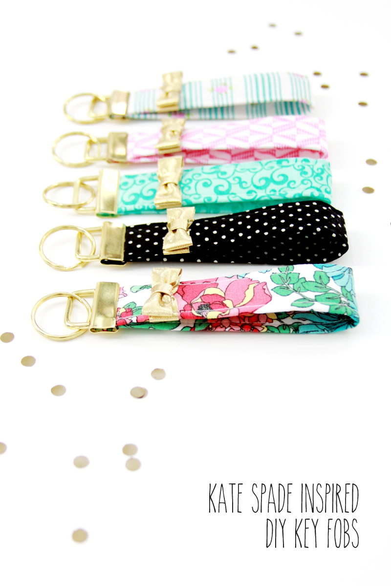 Kate-Spade-Inspired-Key-Fobs