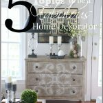 5 MUST KNOW TOPICS TO BE A FABULOUS HOME DECORATOR!