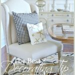 THE VERY BEST DECORATING TIP YOU WILL EVER GET