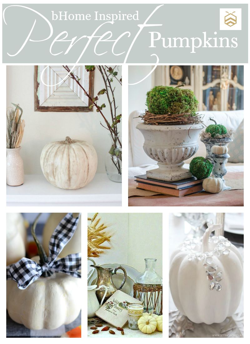 PERFECT PUMPKINS… 5 INSPIRING PUMPKIN DIY'S