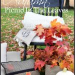 AUTUMN PICNIC IN THE LEAVES AND A GIVEAWAY