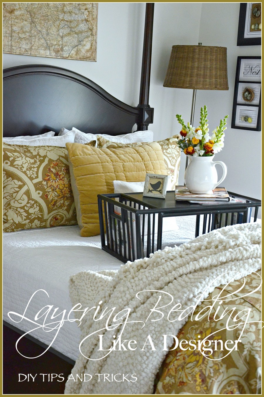 LAYERING BEDDING LIKE A DESIGNER… EASY TIPS AND TRICKS