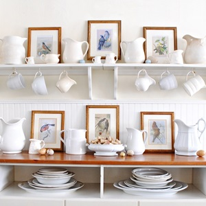 White-Ironstone-and-Bird-Prints