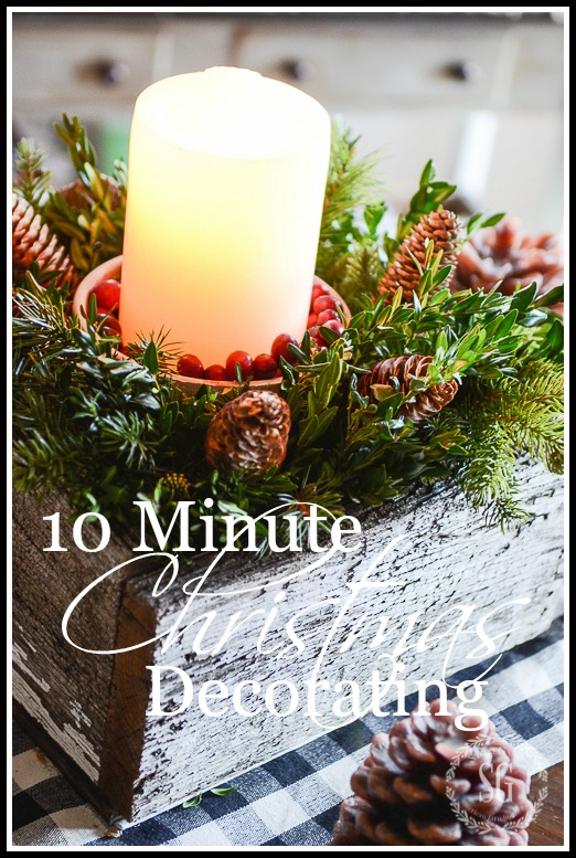 10 MINUTE CHRISTMAS DECORATING