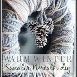 WARM WINTER SWEATER WREATH