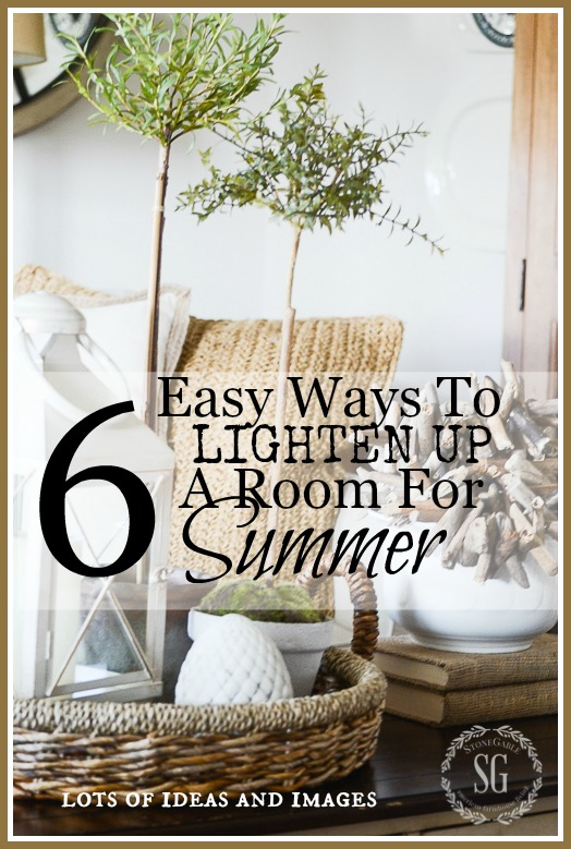 6 EASY WAYS TO LIGHTEN UP A ROOM FOR SUMMER