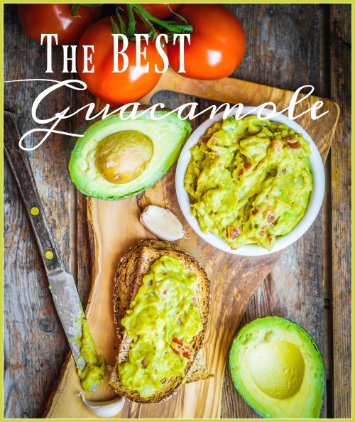 THE BEST GUACAMOLE YOU WILL EVER EAT!