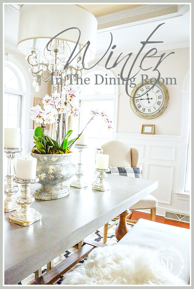 WINTER IN THE DINING ROOM… TIPS FOR A ROOM THAT SHINES!