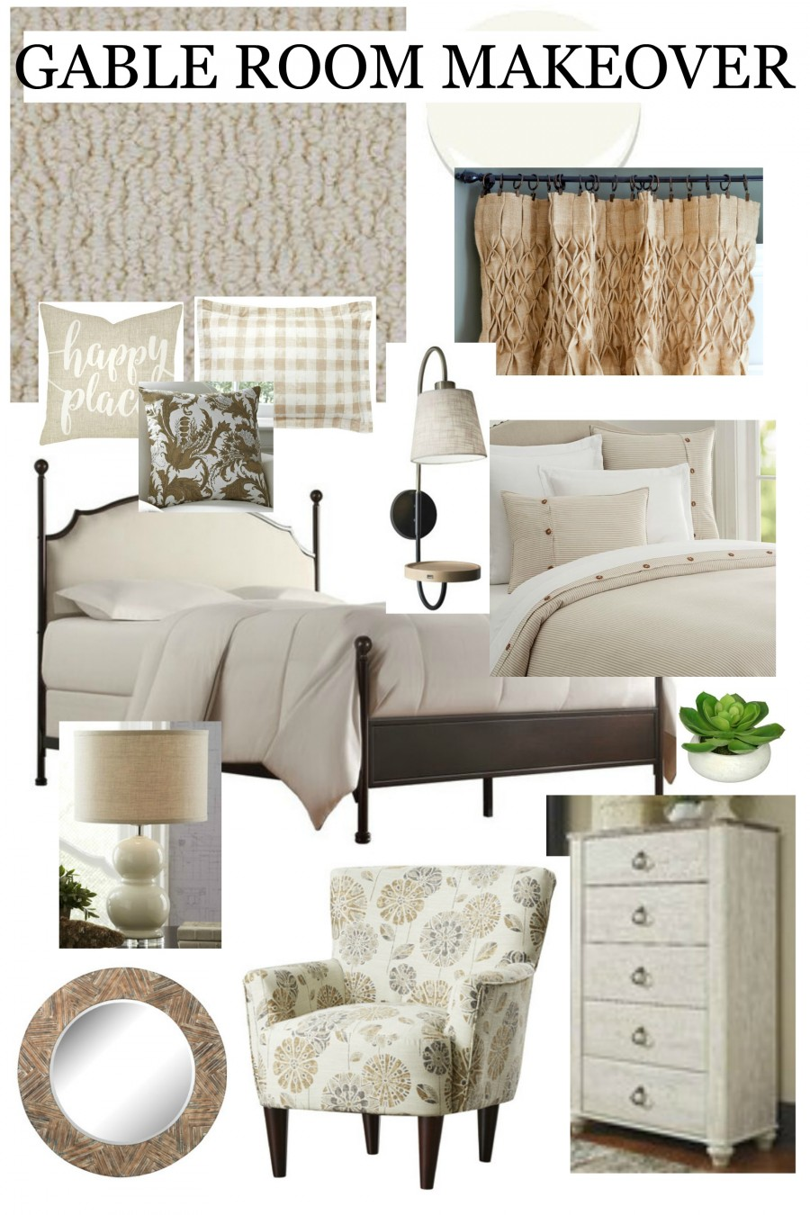 Plans and progress for a gable room makeover and - Decorating tips and tricks ...