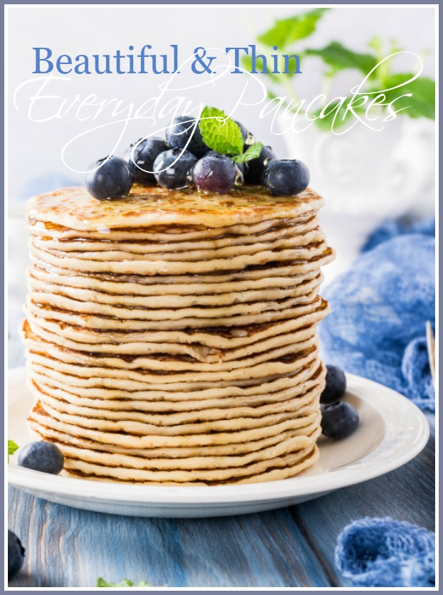 BEAUTIFUL AND THIN EVERYDAY PANCAKES