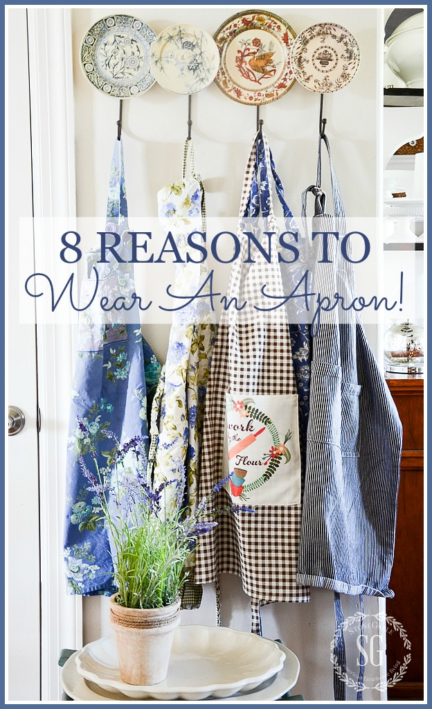 8 REASONS TO WEAR (AND LOVE) AN APRON