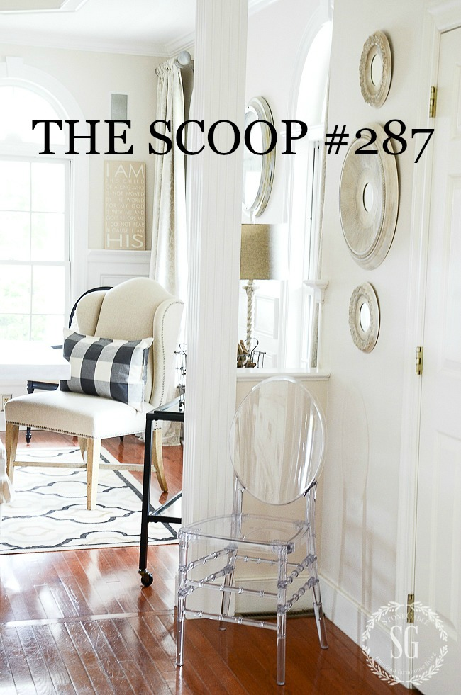 THE SCOOP #287 AND A GIVEAWAY