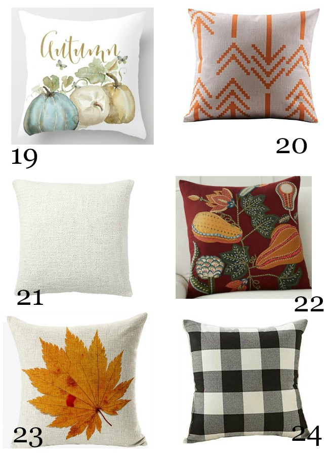 Fall Pillow Love 2017 Stonegable