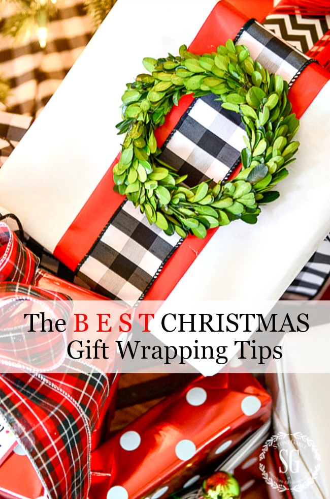 10 BEST CHRISTMAS GIFT WRAPPING TIPS