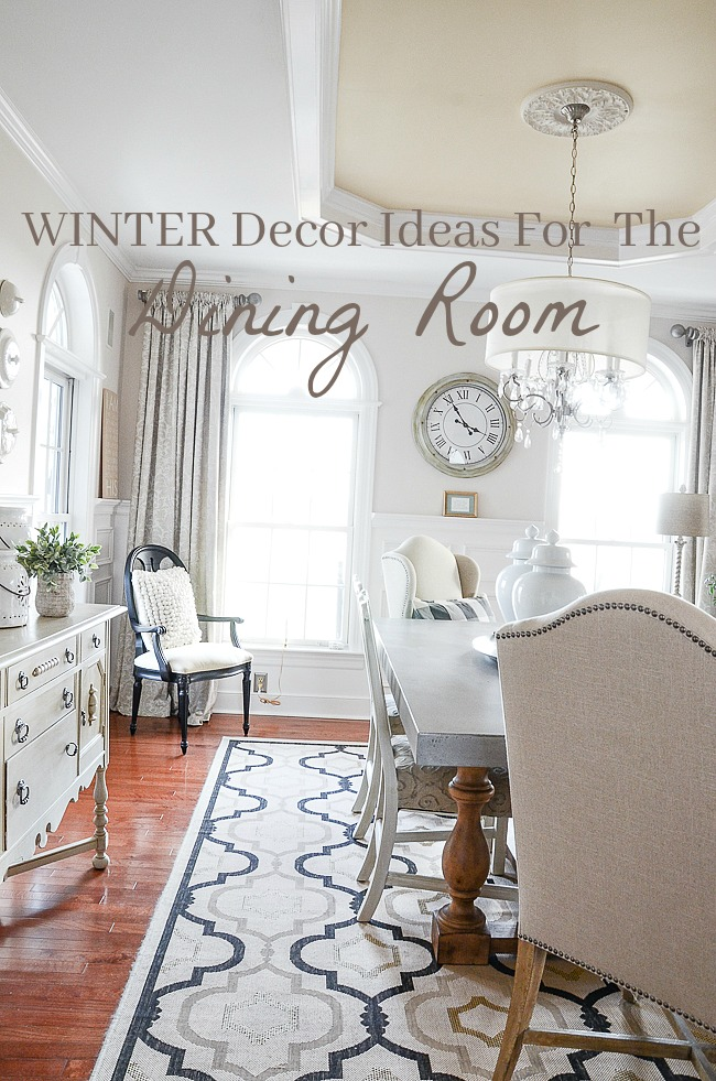 Winter Decor Ideas For The Living Room