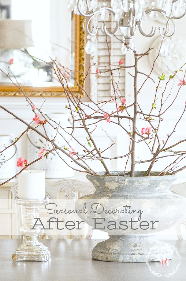 Seasonal Decorating After Easter Stonegable