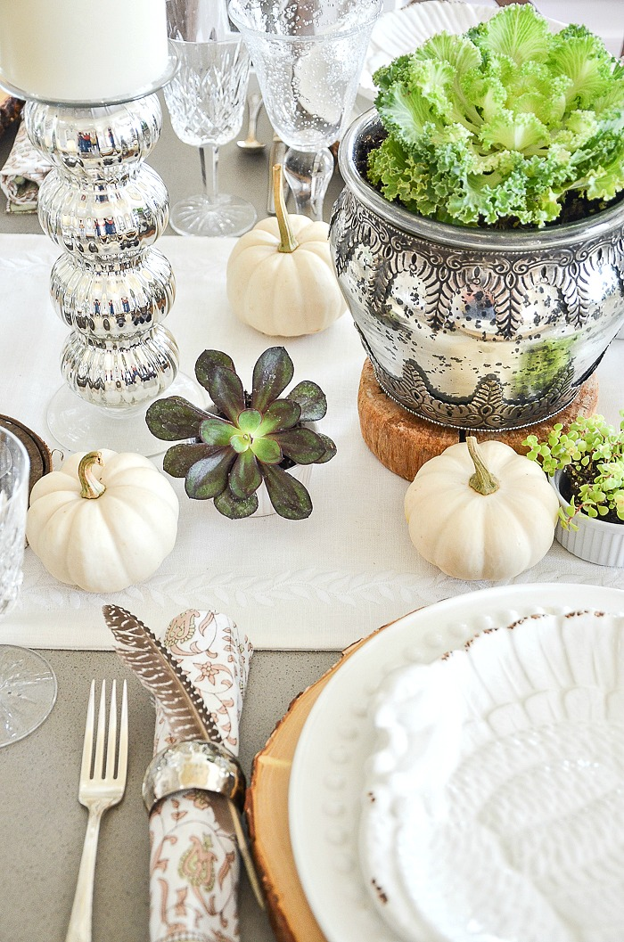 10 easy ideas for setting a thanksgiving table stonegable - Thanksgiving table setting ideas ...