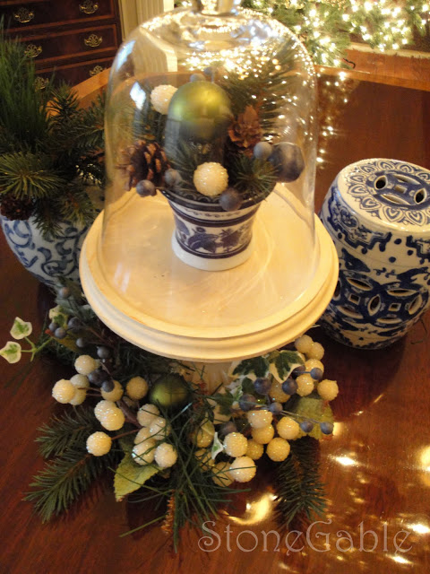 Christmas Cloche and Holiday Cloche Party