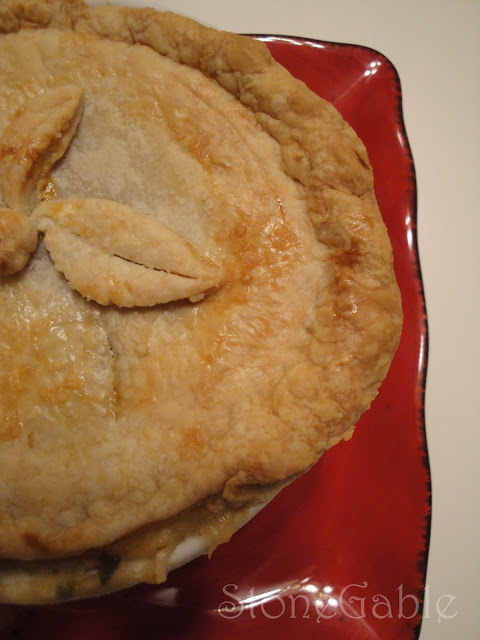 Individual Chicken Pie