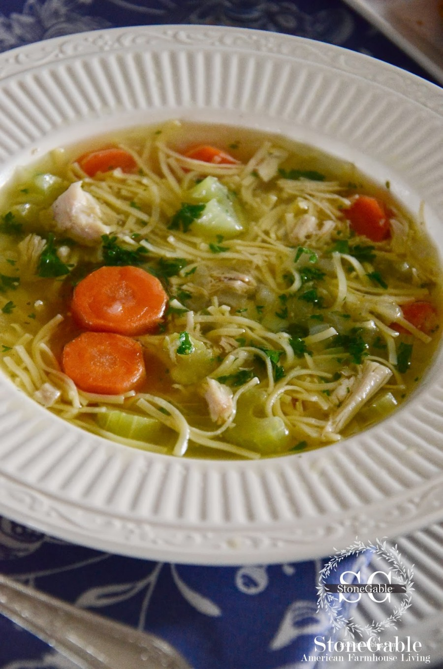 How To Make Perfect Chicken Noodle Soup - StoneGable
