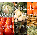 StoneGable Menu: April 19-25