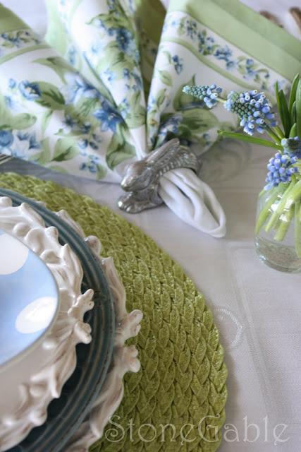 Easter Brunch Table Stonegable