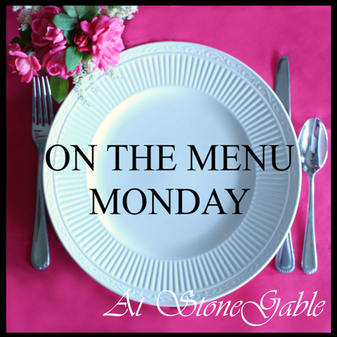 ON THE MENU MONDAY~ Week Of August 22, 2011 AND GIVEAWAY WINNER