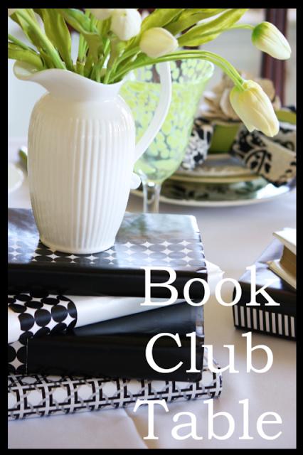 Book Club Tablescape Stonegable