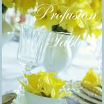 DAFFODIL PROFUSION TABLE