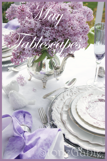 May Tablescapes