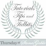 TUTORIALS TIPS AND TIDBITS #1 AND GIVEAWAY