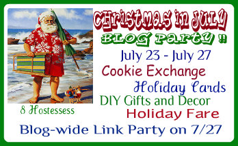 Food Ideas For Christmas In July Party.Christmas In July Blog Party Stonegable