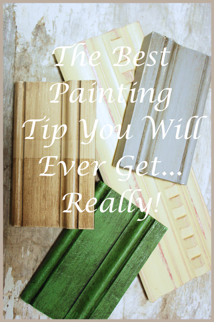 THE BEST PAINTING TIP YOU WILL EVER GET… REALLY!