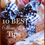 10 BEST SLOW COOKER TIPS~ PART II