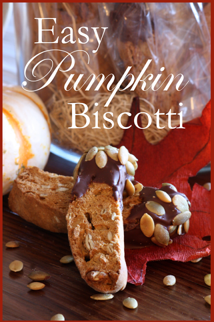 EASY PUMPKIN BISCOTTI
