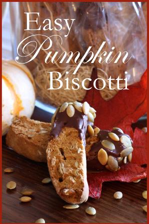 Easy Pumpkin Biscotti~ BLOG - SIDEBAR