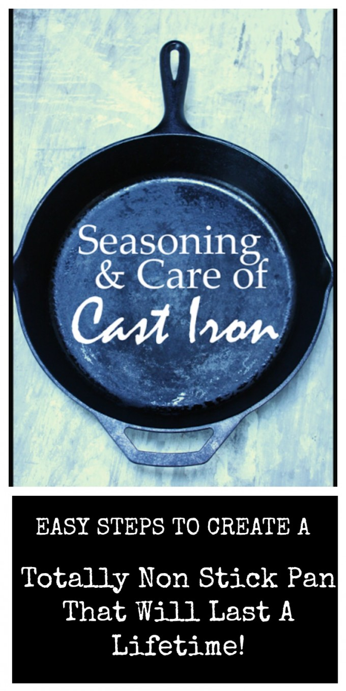 SEASONING AND CARE FOR CAST IRON