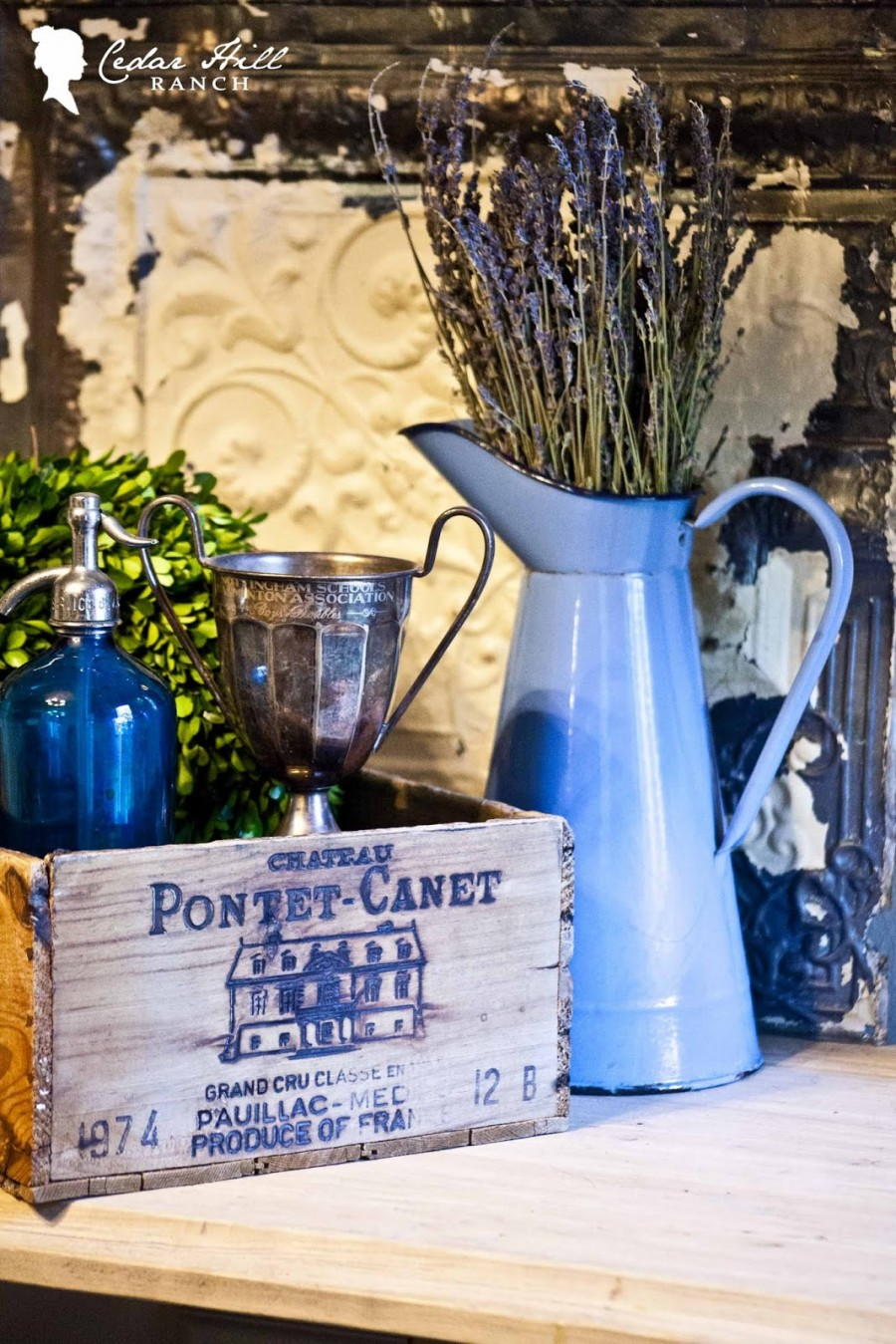 DECORATING WITH VINTAGE CRATES GUEST POST - StoneGable