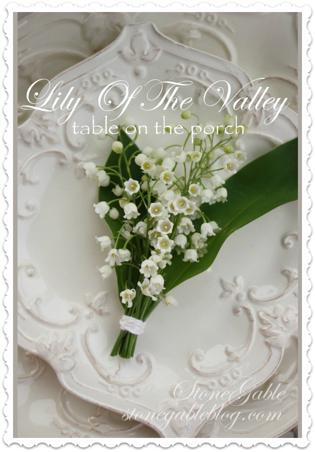 Lily Of The Valley Title Page   stonegableblog.com