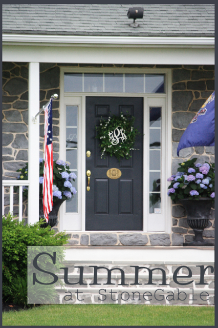 STONEGABLE~ OUTDOOR TOUR AND HISTORY