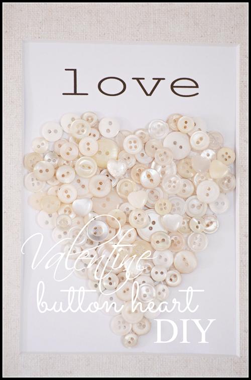 VALENTINE BUTTON HEART DIY-stonegableblog