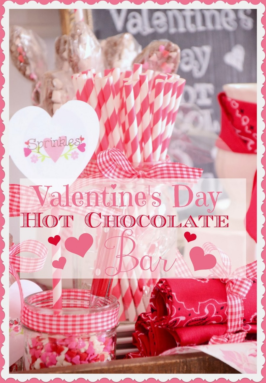 Valentine S Day Hot Chocolate Bar Stonegable