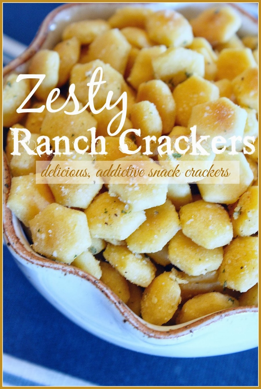 ZESTY RANCH CRACKERS