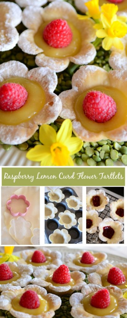 RASPBERRY LEMON CURD TARTLETS-easy to make with store bought items-stonegableblog.com