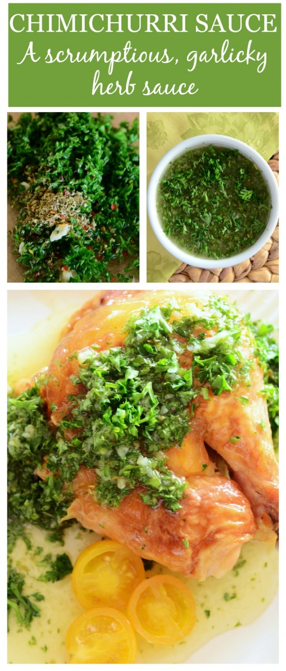CHIMICHURRI SAUCE- an easy sauce everyone should have in their recipe box-stonegableblog.com