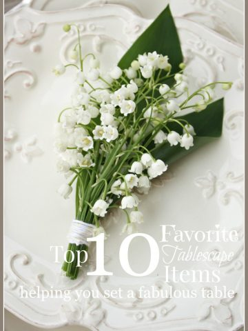 10 MUST HAVE ITEMS FOR SETTING A FABULOUS TABLESCAPE-stonegableblog.com
