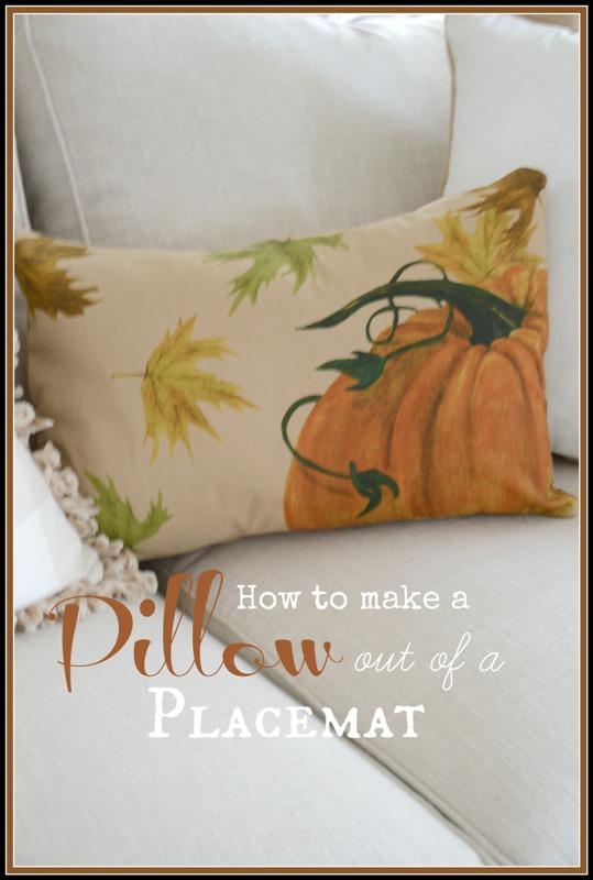 BLOG Placemat Pillow Title Page -  stonegableblog
